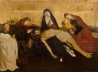 Pietà de Villeneuve-lès-Avignon (Enguerrand Quarton) - Muzeo.com