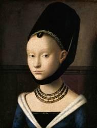Portrait d'une jeune dame (Petrus Christus) - Muzeo.com