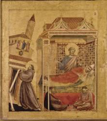 Saint François d'Assise recevant les stigmates (Giotto) - Muzeo.com