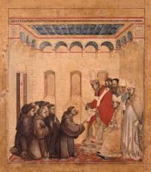 Saint François d'Assise recevant les stigmates (Giotto di Bondone) - Muzeo.com