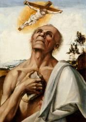 Saint Jérôme en extase (Luca Signorelli) - Muzeo.com