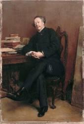 Alexandre Dumas fils (1824-1895) - en 1877 (Meissonier Jean-Louis-Ernest) - Muzeo.com