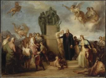 Allégorie de la fondation de la Casa Pia de Belem (Sequeira Domonique Antonio) - Muzeo.com