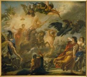 Allégorie à la victoire d'Austerlitz, 2 décembre 1805 (Antoine-François Callet) - Muzeo.com