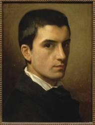 Autoportrait à l'âge de 17 ans (Bonnat Léon Joseph Florentin) - Muzeo.com