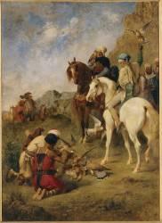 Chasse au faucon en Algérie (Fromentin Eugène) - Muzeo.com