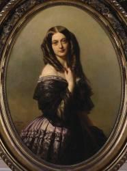 Claire-Emilie Mac-Domell, vicomtesse Aguado, seconde marquise de Las-Marismas (1817-1905) (Franz Xaver Winterhalter) - Muzeo.com