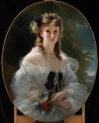 Duchesse de Morny (Franz Xaver Winterhalter) - Muzeo.com