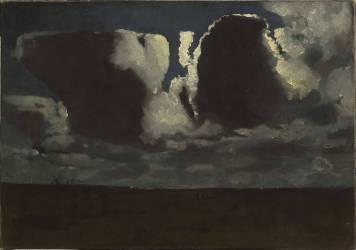 Effet de clair de lune (Maannacht) (Georges Hendrik Breitner) - Muzeo.com