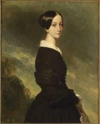 Françoise-Caroline de Bourbon Bragance (Franz Xaver Winterhalter) - Muzeo.com