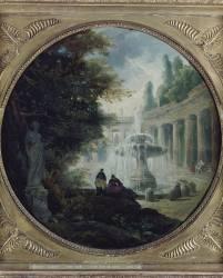 Intérieur de parc (Hubert Robert) - Muzeo.com