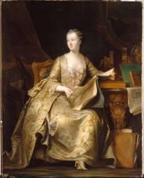 Jeanne Antoinette Poisson, marquise de Pompadour (1722-1764) (Charles de Steuben) - Muzeo.com