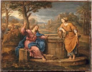 Jésus et la Samaritaine (Mignard Pierre) - Muzeo.com