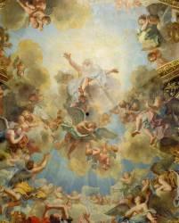 La chapelle royale : voûte (Antoine Coypel) - Muzeo.com