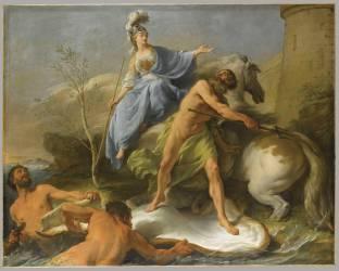 La Dispute de Minerve et de Neptune pour donner un nom à la ville d'Athènes (Halle Noël) - Muzeo.com