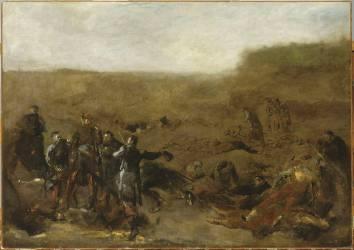 La Relève des morts à Montretout (Carpeaux Jean-Baptiste) - Muzeo.com