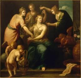 La toilette de Psyché. (Ambrosius Bosschaert) - Muzeo.com