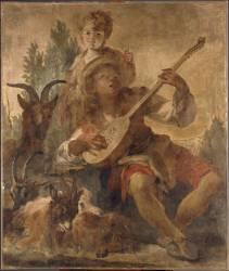 Le joueur de mandoline (Halle Noël) - Muzeo.com