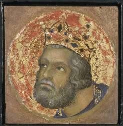 Le roi David (Simone Martini) - Muzeo.com