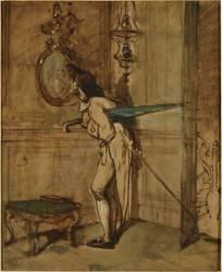 Le Visiteur (Galland Pierre-Victor) - Muzeo.com