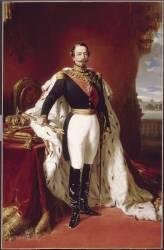 L'empereur Napoléon III (1808-1873) en pied (,D'après Winterhalter Franz...) - Muzeo.com
