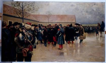 Les Réservistes (Jeanniot Pierre Georges) - Muzeo.com