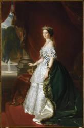 L'impératrice Eugénie (1826-1921) (,D'après Winterhalter Franz...) - Muzeo.com