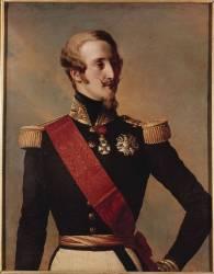Louis-Charles-Philippe d'Orléans, duc de Nemours (1814-1896) (,D'après Winterhalter Franz...) - Muzeo.com