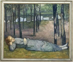 Madeleine au Bois d'Amour (Bernard Emile) - Muzeo.com