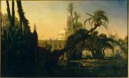 Mosquée en Basse-Egypte (Marilhat Prosper) - Muzeo.com