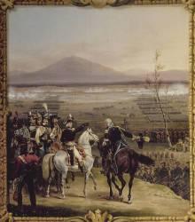 Passage du Tagliamento en face de Valvasone, dirigé par le général Napoléon Bonaparte, 16 mars 1797 (Lecomte Hippolyte) - Muzeo.com
