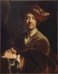 Portrait de Hyacinthe Rigaud (1659-1743) (Hyacinthe Rigaud) - Muzeo.com