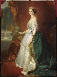 Portrait de l'impératrice Eugénie (,D'après Winterhalter Franz...) - Muzeo.com