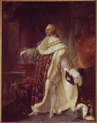 Portrait de Louis XVI (Callet Antoine-François) - Muzeo.com