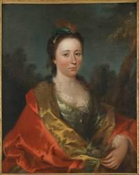 Portrait de Marguerite-Marie Pater (Pater Jean-Baptiste) - Muzeo.com