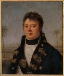 Portrait de Nicolas-René Dufriche pendant la campagne d'Egypte (Antoine-François Callet) - Muzeo.com