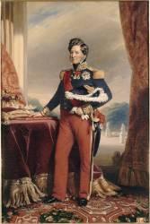 Portrait du roi Louis-Philippe en pied, roi des Français (,D'après Winterhalter Franz...) - Muzeo.com
