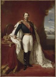 Portrait en pied de Napoléon III (,D'après Winterhalter Franz...) - Muzeo.com
