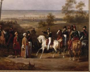 Prise de Coron par le général de brigade Sébastiani (Lecomte Hippolyte) - Muzeo.com