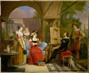 Rubens peignant