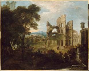 Ruines antiques (anonyme) - Muzeo.com