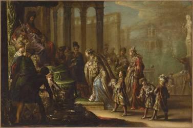 Salomon et la reine de Saba dit aussi