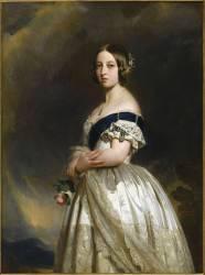 Victoria Ière (1819-1901) (Franz Xaver Winterhalter) - Muzeo.com