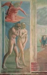 Adam et Eve banis du Paradis (Tommaso Masaccio) - Muzeo.com