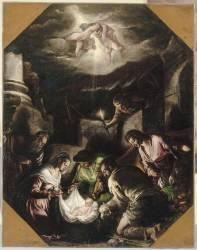 Adoration des Bergers (Bassano Jacopo (dit), Jacopo...) - Muzeo.com