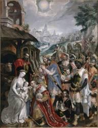 Adoration des Mages (Vos Martin de) - Muzeo.com