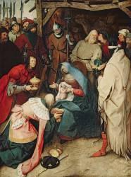 Adoration des mages (Brueghel Pieter le Vieux) - Muzeo.com