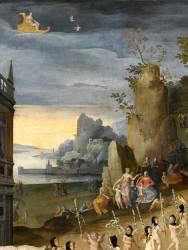 Allégorie : les funérailles de l'Amour (Caron Antoine (atelier de)) - Muzeo.com