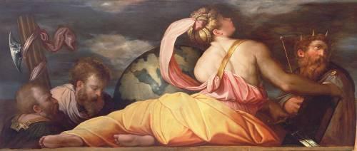 Allégorie de la Géographie (Giorgio Vasari) - Muzeo.com