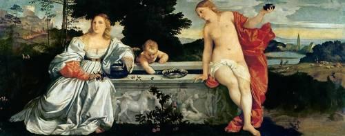 Amour Sacré et Amour Profane (Titien) - Muzeo.com